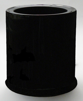 black ceramic candle warmer, electric candle warmer