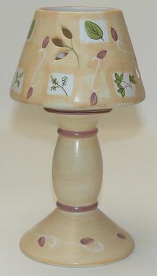 Candle lamp, tealight lamp
