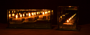 Restaurant, wedding, event, tealight holder