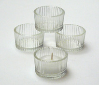 tea light holder, clear glass tea light holders