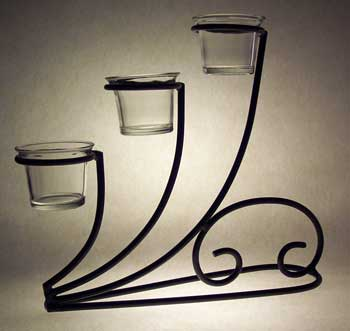 wrought iron votive holder, tealight holder, wrought iron, tea light, holders
