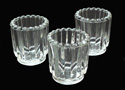 votive holder, votive cup, fluted candle holder